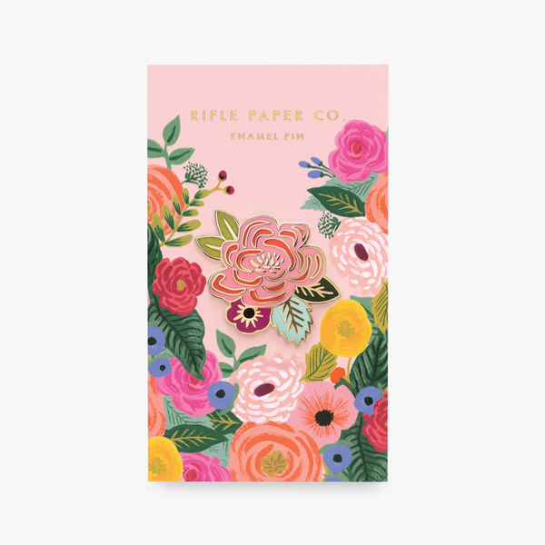 Rifle Paper Co Enamel Pin Juliet Rose