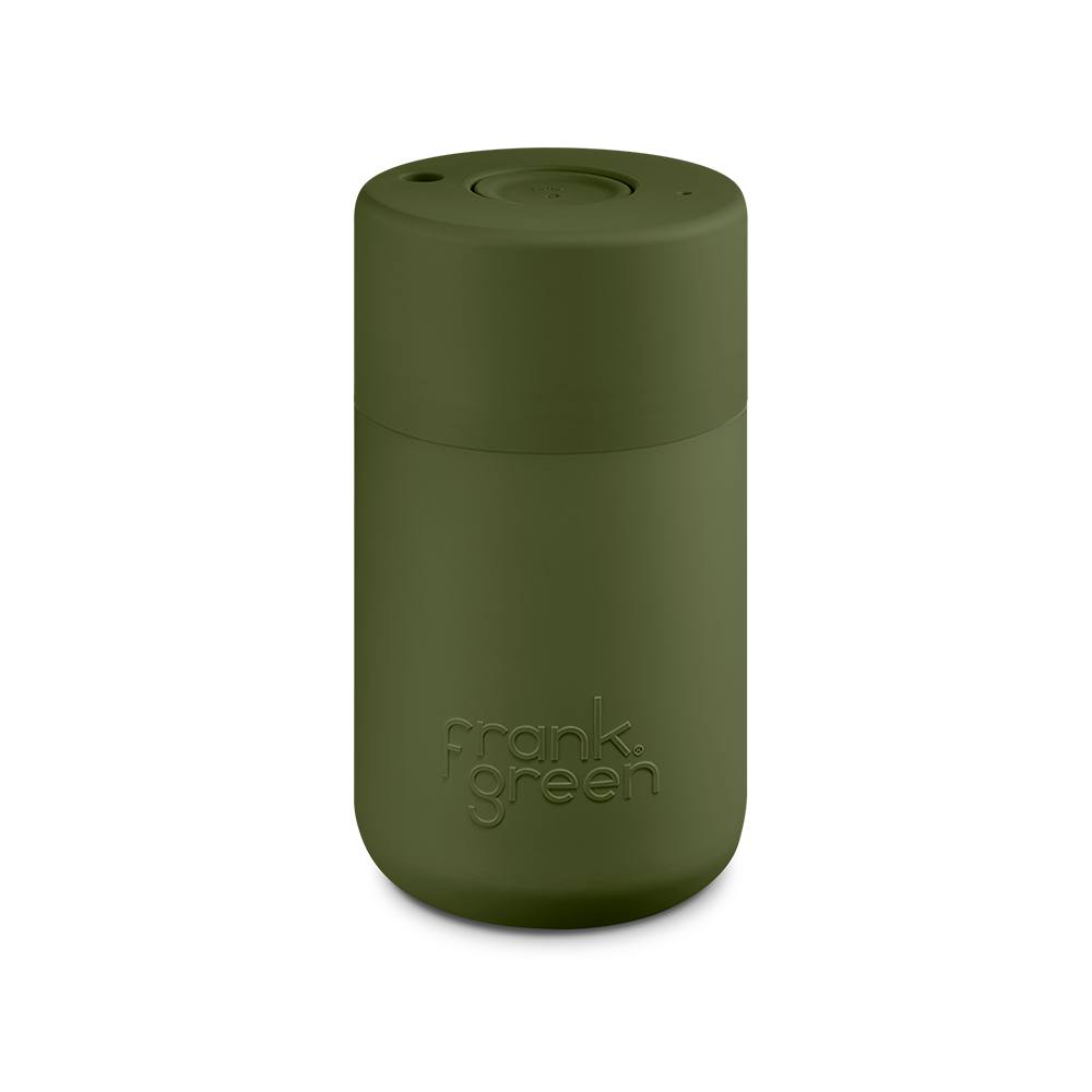 Frank Green Original Reusable Smart Cup 12oz Khaki