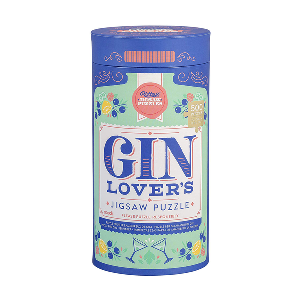 Ridleys 500 Piece Jigsaw Puzzle Gin Lovers