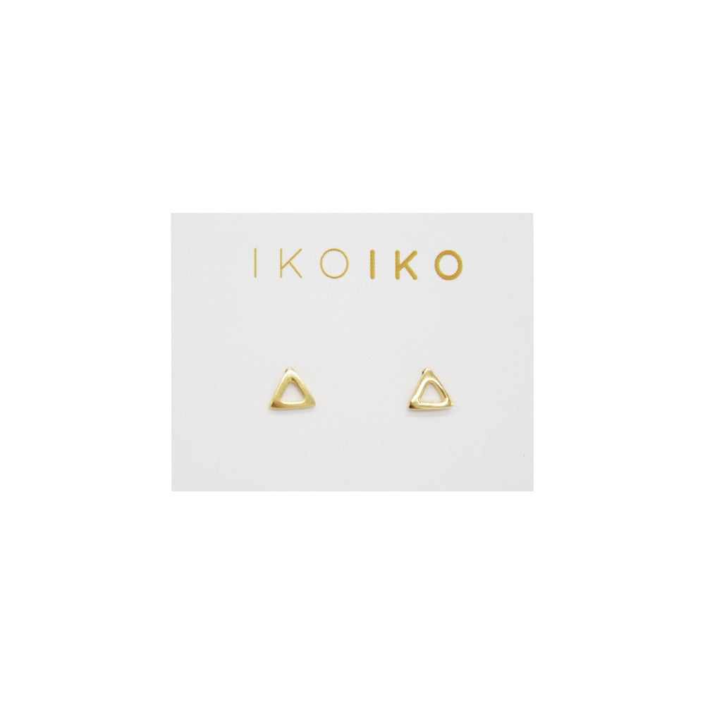 Iko Iko Studs Open Triangle
