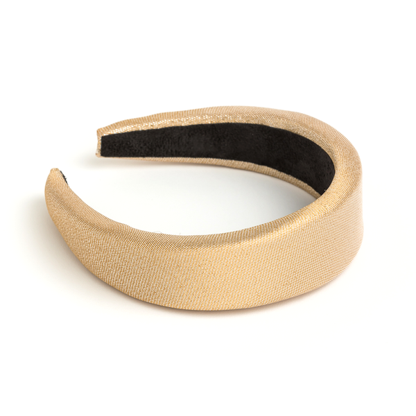 Stella + Gemma Headband Padded Gold