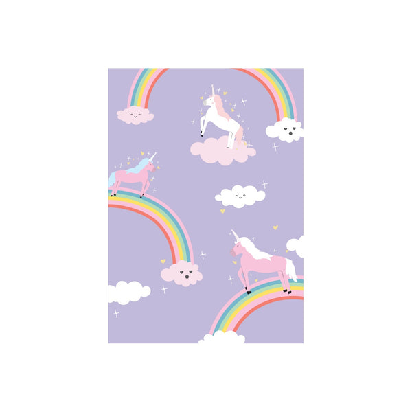Iko Iko Kids Card Unicorn Rainbow Party