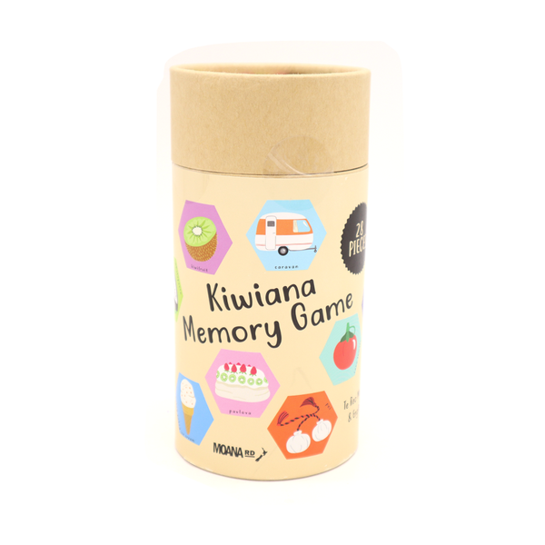 Moana Road Memory Game Kiwiana