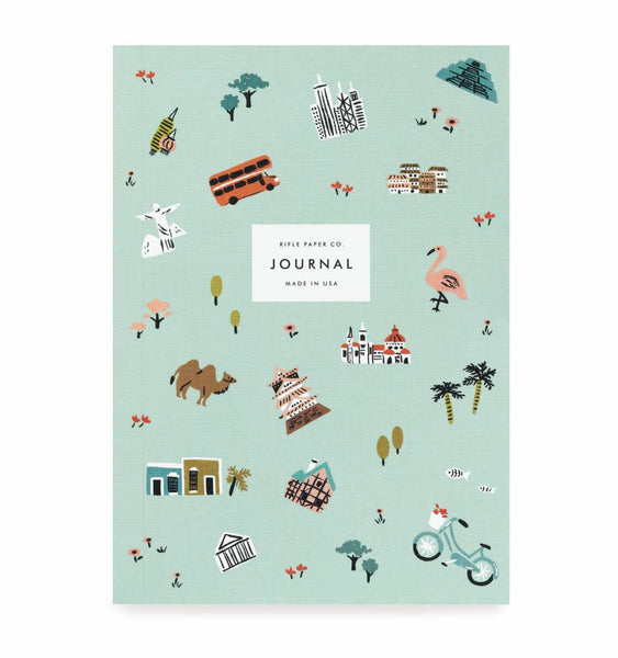 Rifle Paper Co Journal Ruled Medium Wanderlust