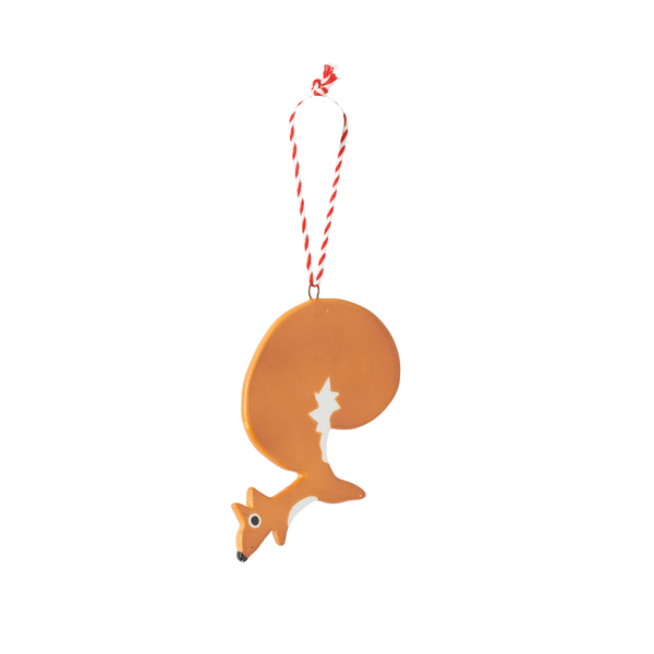 Citta Hand Painted Squirrel Decoration