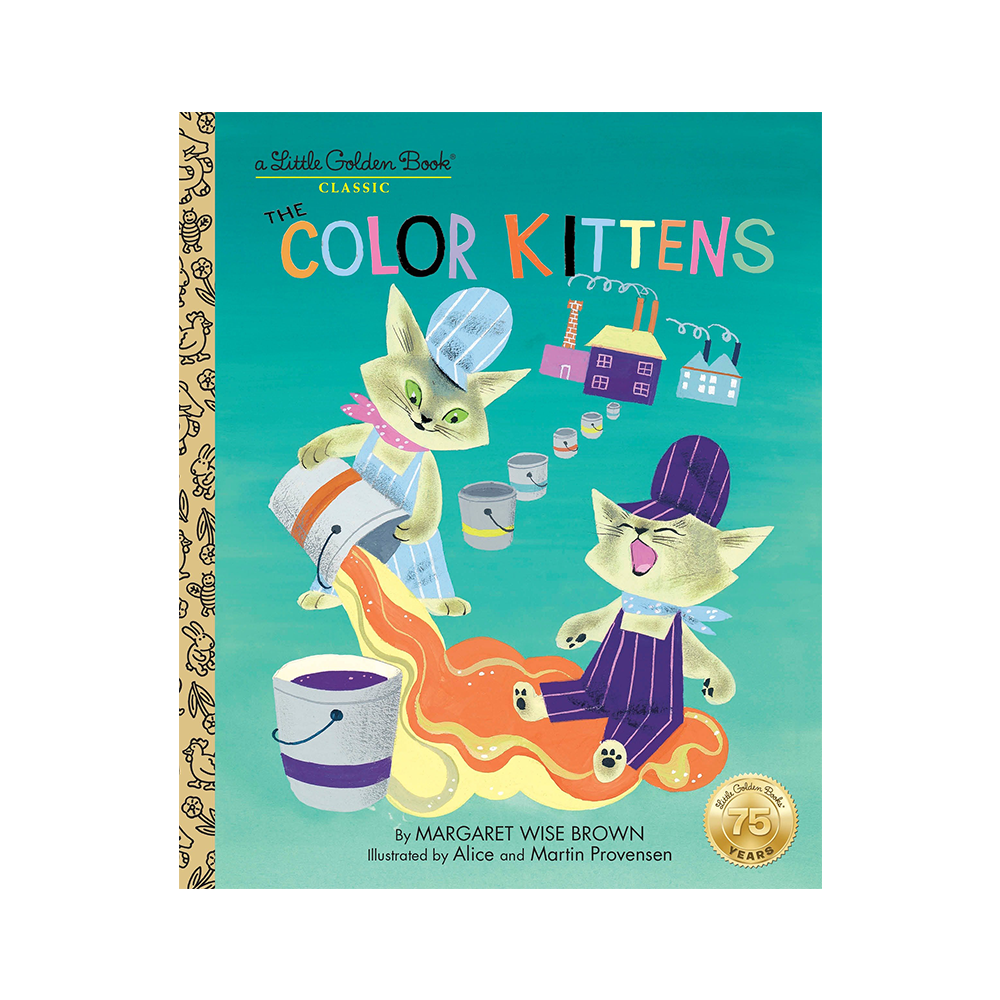 Little Golden Book Colour Kittens
