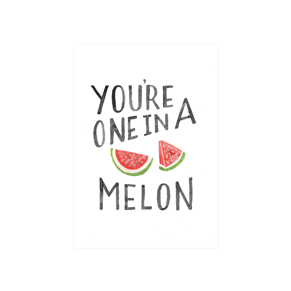 Steer Illustrations X Iko Iko Card Melon