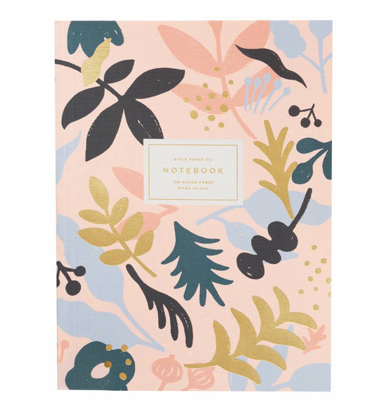 Rifle Paper Co.Memoir Notebook Ruled Large Sun Print