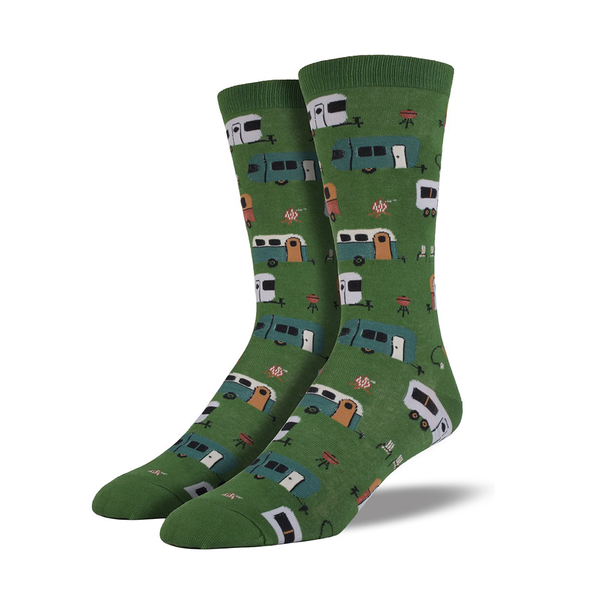 Socksmith Socks Mens Camptown Caravans