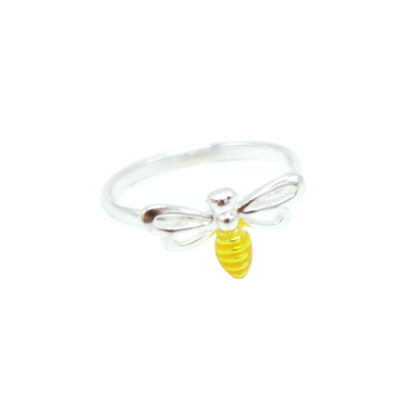 Iko Iko Ring Bee Gold and Silver
