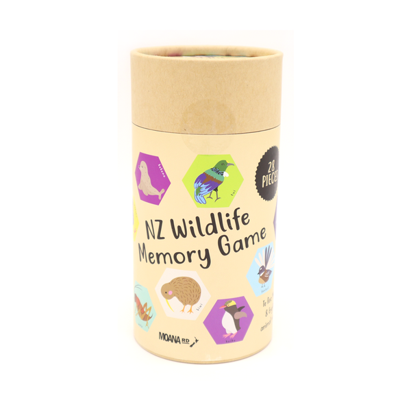 Moana Road Memory Game NZ Wildlife