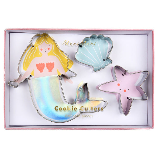 Meri Meri Cookie Cutters Mermaid