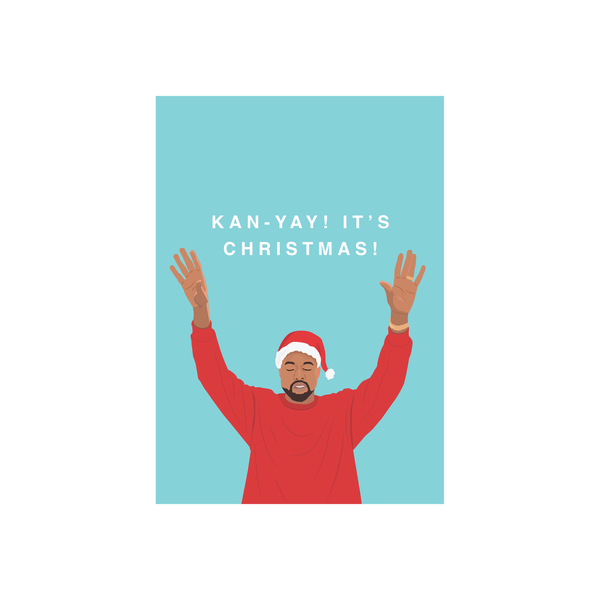 Iko Iko Christmas Card Kan-Yay!