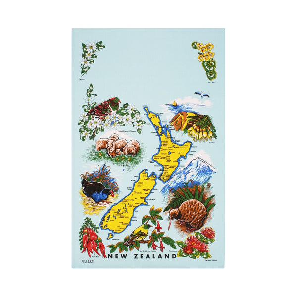 New Zealand Spring Tea Towel