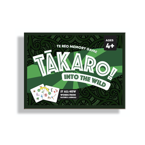 Takaro Te Reo Memory Game Into the Wild