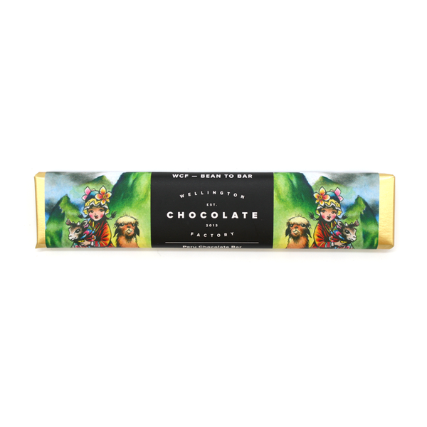 Wellington Chocolate Factory Peru Bar 25g