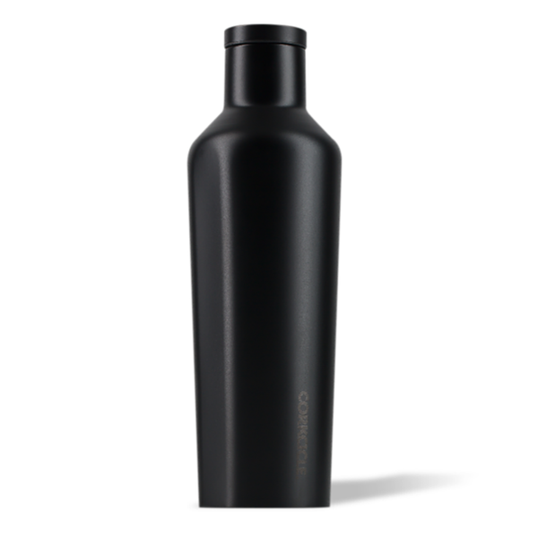 Corkcicle Canteen Drink Bottle 16oz Dipped Black