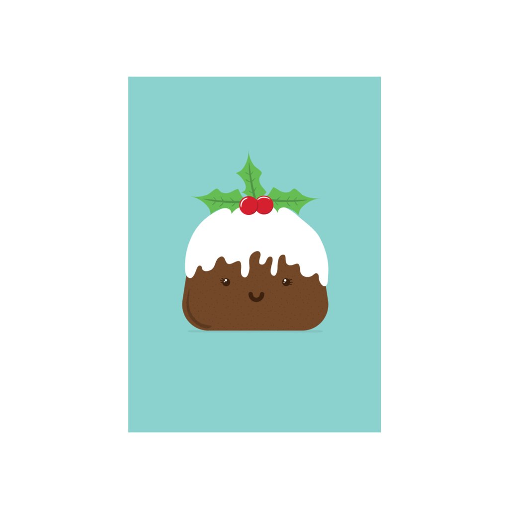Iko Iko Christmas Card Pudding