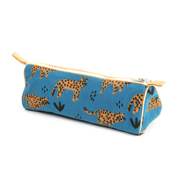 Pencil Case Cheetah Print
