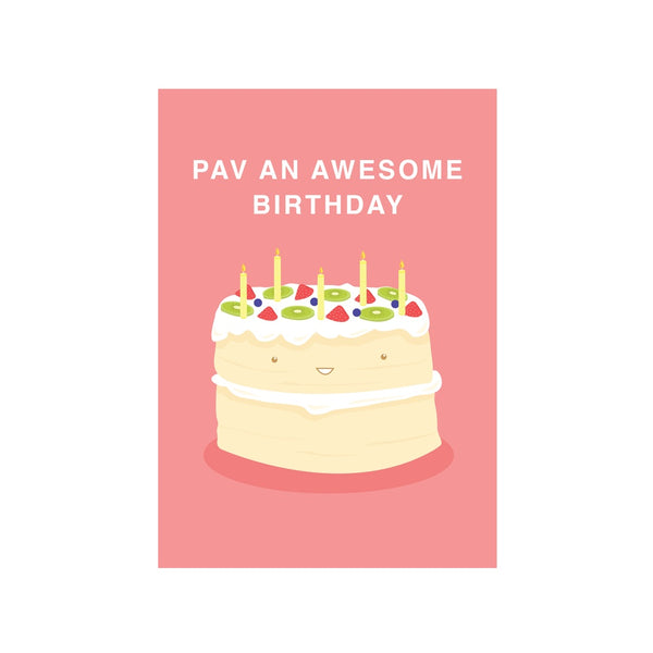 Iko Iko Cutie Food Pun Card Pav Birthday
