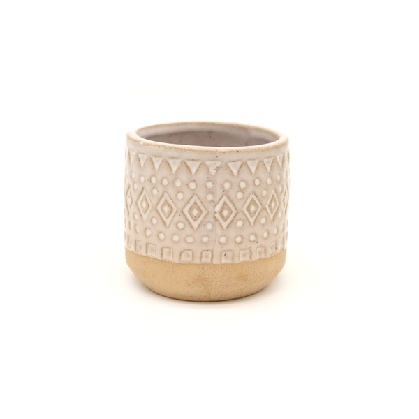 Zuri Planter White Sand