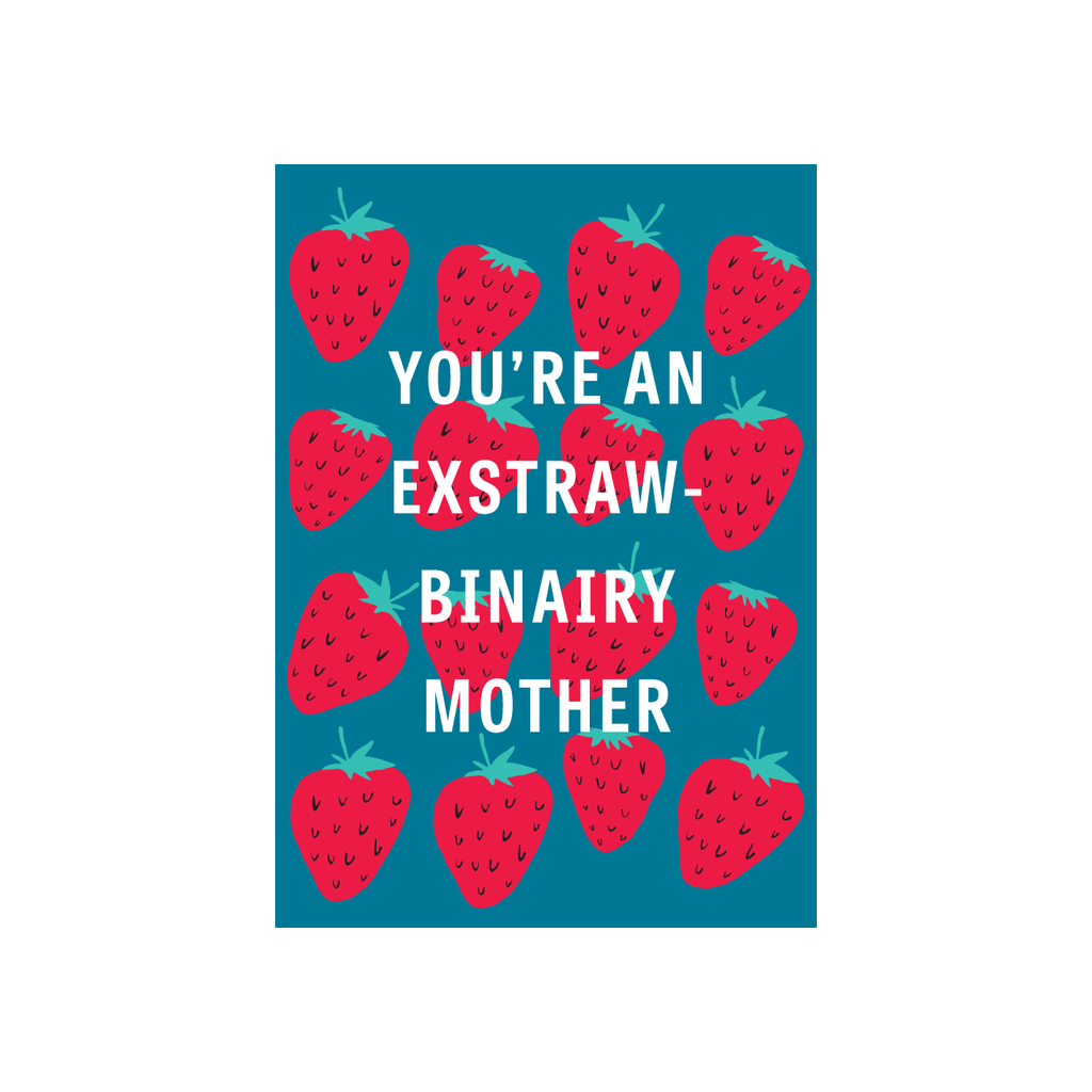 Iko Iko Fruit Mum Card Exstrawbinary