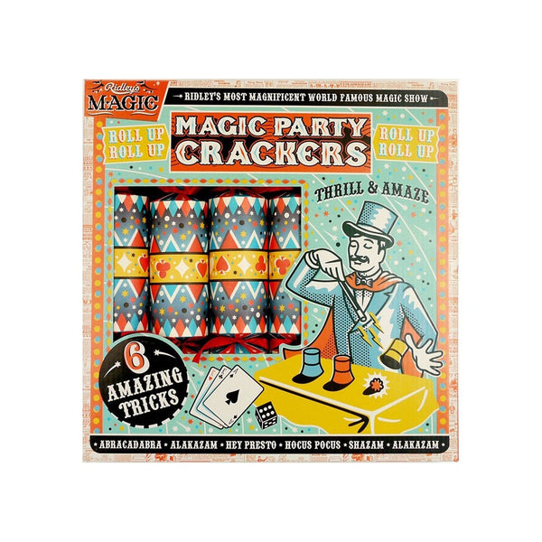 Ridleys Party Crackers Magic Set of 6