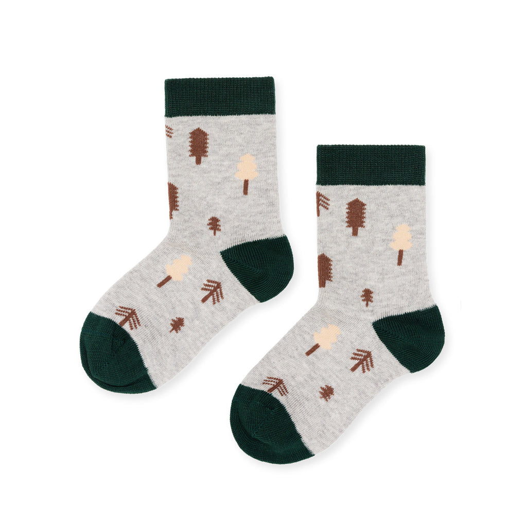 Hansel From Basil Kids Socks Mini Forrest Crew
