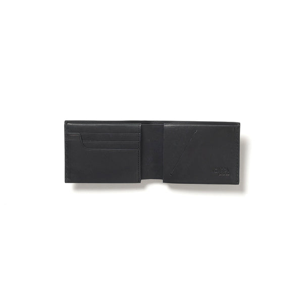 Citta JFD Leather Slimline Wallet Black