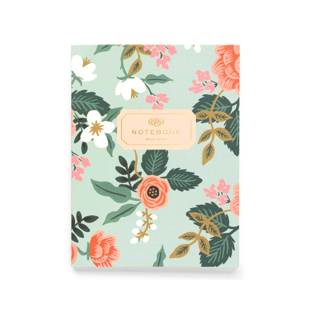 Rifle Paper Co Notebooks Pack of 2 Plain Large Birch