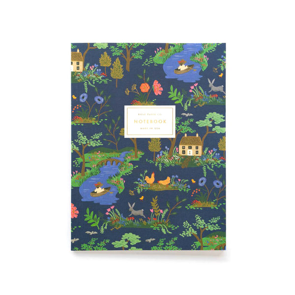 Rifle Paper Co Notebooks Pack of 2 Plain Large Garden Toile
