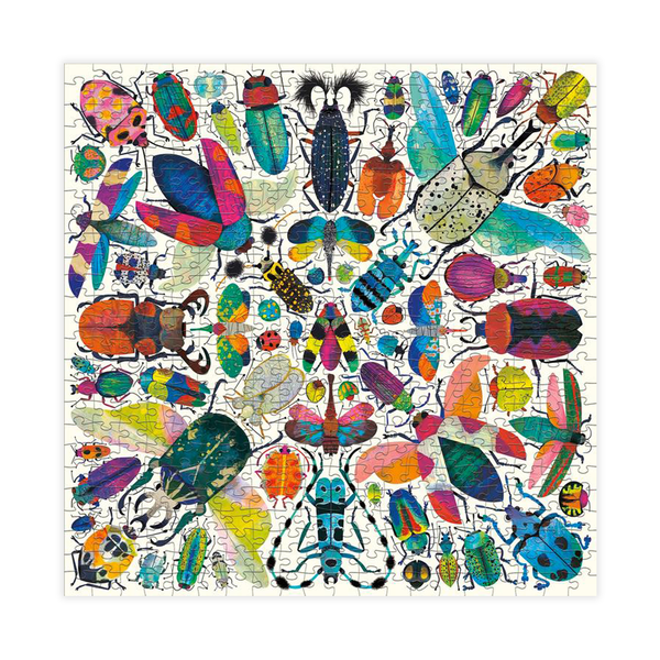 Mudpuppy 500 Piece Puzzle Kaleido Beetles