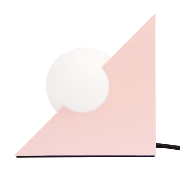 Milligram Form Light Triangle Pink