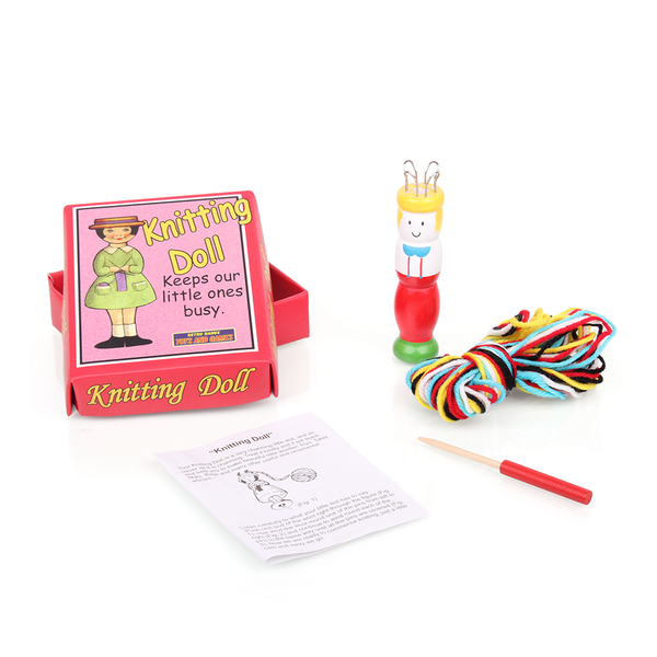 Retro Knitting Doll Assorted