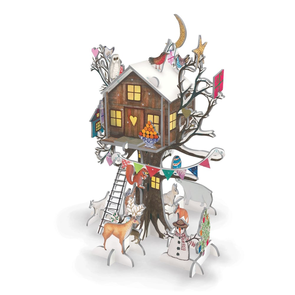 Roger La Borde Pop and Slot Christmas Treehouse Advent Calendar