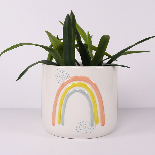 Ayla Rainbow Planter Colourful Small
