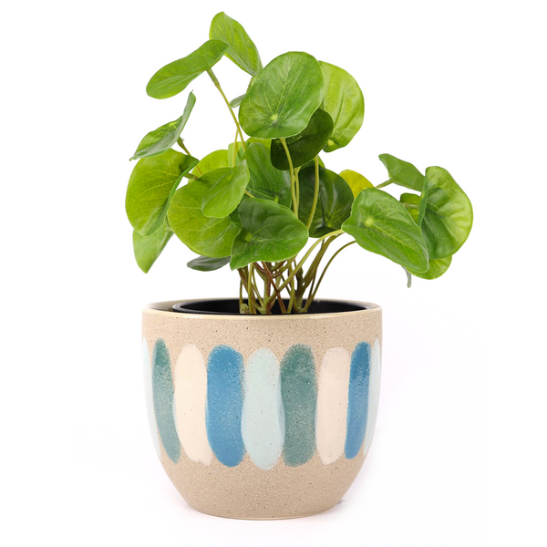 Strya Planter Sand Blue Small