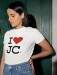 I LOVE JC / I HEART JC - Unisex Cotton T-Shirt