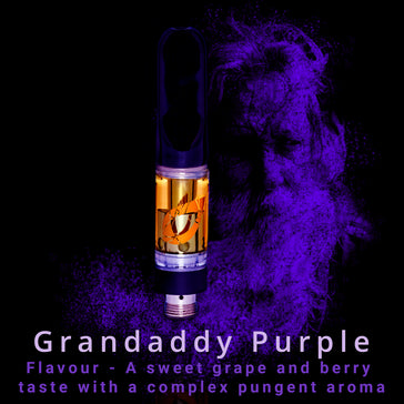 CBD Vape Cartridge | Grandaddy Purple | Pre-filled | 0.5ml