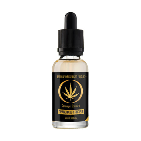 CBD E Liquid | Canavape® | Granddaddy Purple