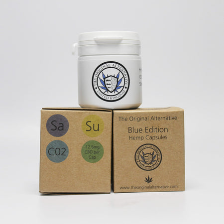 CBD Brothers Vegan Capsules | Blue Edition | Sativa