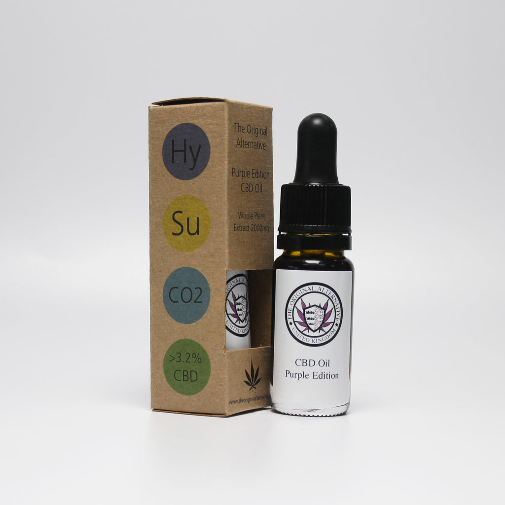 CBD Brothers Oil | Purple Edition | 3.2% | Hybrid-The Original Alternative-Cannaputic