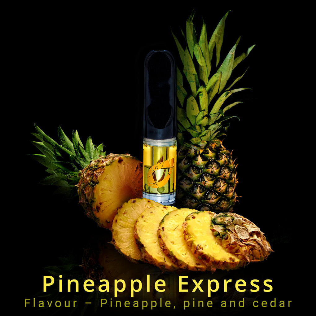 CBD Vape Cartridge | Pineapple Express | Pre-filled | 0.5ml-Synergy Extracts-Cannaputic