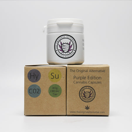 CBD Brothers Vegan Capsules | Purple Edition | Indica