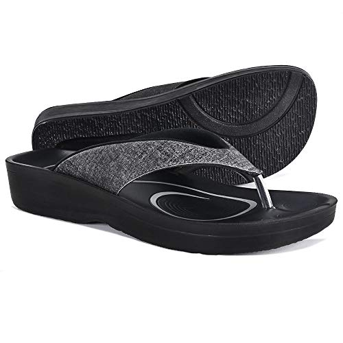 5bd216d2892 AEROTHOTIC Original Orthotic Comfort Thong Sandal and Flip Flops with Arch  Support for Comfortable Walk ( · AEROTHOTIC ...