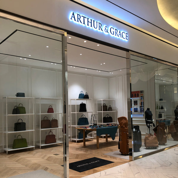 ARTHUR&GRACE opens its first boutique in Busan