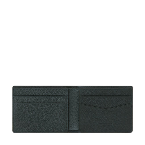 Billy Half 4 Billfold Wallet Dark Green