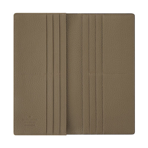 Billy Long 12 Zipper Wallet Beige