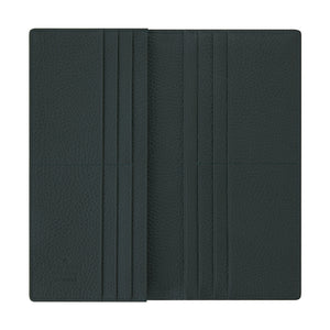 Billy Long 12 Zipper Wallet Dark Green