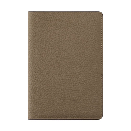 Miles Passport Holder Beige